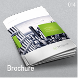 014 - Brochure Template A4 and Letter - Slash Download