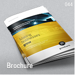 044 - Brochure Template A4 and Letter - Slash Download