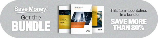 bundle brochure 03 - Brochure Template A4 and Letter - Slash Download