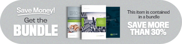 Corporate Business Brochure 16 pages A4 + Letter - 1